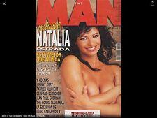 MAN Nº 134 DICIEMBRE 1998 NATALIA ESTRADA  Magazine Spanish vintage