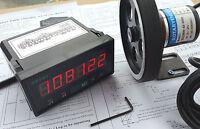High Precision Length Measure Counter Tool Kits 1 m Resolution + 300mm Wheel