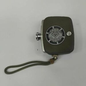 AGFA MOVEX 88 AUTHENTIC VINTAGE 1950'S WIND-UP CINE CAMERA - TESTED WORKING