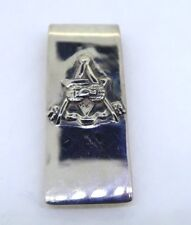 STERLING SILVER MASONIC MONEY CLIP