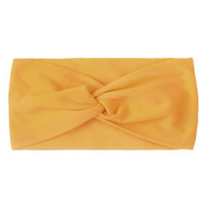 Children's Nylon Cross-knotted Hair Band Knotted Bow Hair Band Turban Head Wrap