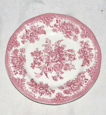 "Asiatic Pheasants Pink 6.7/8"" Bread Plate - Parliament by Premiere"