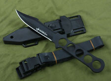 Outdoor Survival Camping Tool Hunting Tactical Throwing Diving Knife Messer