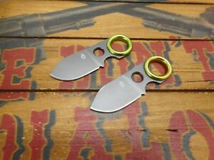 Lot of 2 Gerber GDC Money Clip Knife Blades Replacement