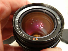 CARL ZEISS JENA DDR MC S 1:3.5 F=135mm M42 Screw Mount Classic Lens.