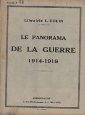 LE PANORAMA DE LA GUERRE 1914-1918  fascicule N° 51