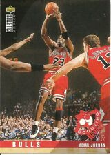 1995-96 Collector's Choice Player's Club Scouting Report Michael Jordan #324