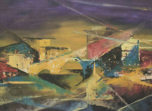 The Nature of The Lyonel Feininger - City View With Bridge?