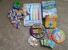 LOT School Supplies Educational Learning Games Math spelling Phonics Cards EUC