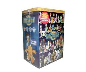 Digimon: The Official Seasons 1-4 Complete Series Collection (DVD, 32-Disc Set)