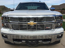 2014-2015 Chevy Silverado Z71 chrome grille grill insert overlay trim Z71 only!