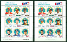 St. Vincent 1989, WALT WEISS WILLIE MAYS SF Baseball With Spacemen Sheet 465
