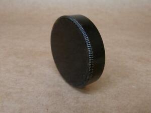 Leitz Leica Black Paint Metal Rear Lens Cap for Screw Mount Hektor / Elmar etc