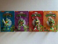 Brand New Nickelodeon Teenage Mutant Ninja Turtles (TMNT) Keychains Complete Set