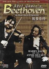 Un Grand Amour De Beethoven DVD Harry Baur Annie Ducaux French NEW R0 1936