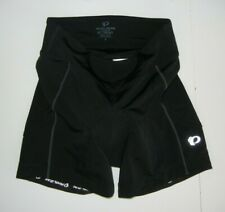 PEARL IZUMI SELECT Black Padded CYCLING SHORTS Bike Compression Gear Sz Women SM