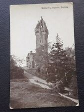 POSTCARD: WALLACE MONUMENT: STIRLING: UN POSTED