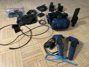 HTC Vive Pro Eye with WIRELESS ADAPTER + Extra Battery (Barely used!)