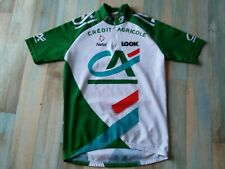 MAILLOT CYCLISTE VELO NALINI LOOK CREDIT AGRICOLE TAILLE M/3 TBE