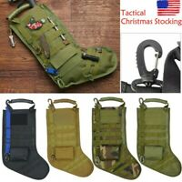 CA-2195B Military Tactical MOLLE Holiday Christmas Stocking w// Handle