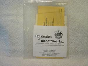 HARRINGTON RICHARDSON TOPPER SHOTGUN 176 088 099 162 490 (Jr) instr owner manual