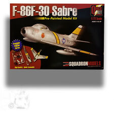 SQUADRON 1/72 F-86F-30 SABRE PRE-PAINTED; NO GLUE REQUIRED KIT SQ-7004