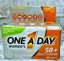 ONE A DAY Women's 50+ Healthy Advantage Multivitamins 65 Tablets