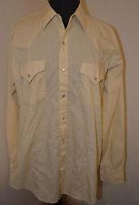Ely Cattleman Men's Snap Front Long Sleeve Shirt Size 16 1/2