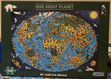 Gibsons Jigsaw  OUR GREAT PLANET  1000 Pieces Hartwig Braun Complete
