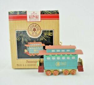 "Hallmark Keepsake Ornament - Claus & Co. R.R. ""Passenger Car"" Third in the Set"