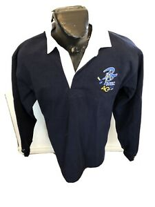 MENS Large Rugby Jersey Barbarian BOHC 40 Years 1975-2015 NEW WITH TAGS NWT