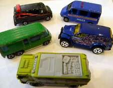 5 VANS LA- ERTL (USA) 1983 THE A TEAM STEPHAN J CANNELL SONIC FLASHERS