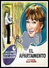 The Apartment  6  Movie Posters Romance Classic & Vintage Cinema