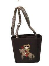Betty Boop tote purse handbag Bag horse Embroided LICENSED new