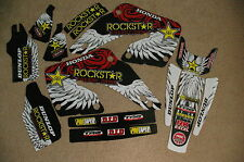 TEAM  ROCKSTAR  HONDA   GRAPHICS   CR125  CR250  CR125R  CR250R 2000  2001