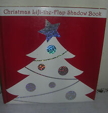 Christmas Lift-The-Flap Shadow Book - Priddy Books Big Ideas For Little People