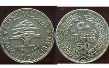 LIBAN   50   piastres 1975 ( bis )