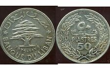 LIBAN   50   piastres 1975