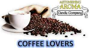 COFFEE LOVERS COLLECTION Soy Wax Clamshell Break Away tart melt wickless candle