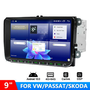 9 Inch 8- Core Android 10 Infotainment Car Radio System 2 DIN for VW Golf Seat