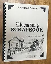 "Texas, Cass County, ""Bloomberg Scrapbook,"" History, Genealogy"