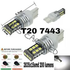Toyota Hilux 2014+ halogen DRL replacement 7443 W21W LED globe/bulb CAnbus EF