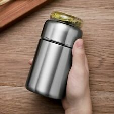 280ml Stainless Steel Thermos Bottle Thermocup Tea Vaccum Flasks Infuser Bottle