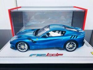 BBR 1:18 Ferrari F12 TDF Blue Emperor Special Edition (#1/3)