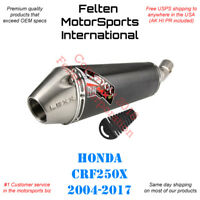 Lexx MXe Honda CRF250X Slip-On Silencer Muffler Exhaust CRF 250X Lex Pipe 04-17