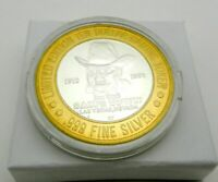 Limited Edition Sam's Town Las Vegas $10 Ten Gaming Token .999 Silver