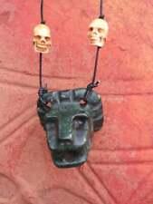 JADE Aztec Mayan Mexican Quetzalcoatl Kukulkan Feathered Serpent Necklace