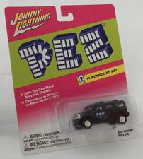 Hummer H2 2004 SUV Black Chrome Hubs Johnny Lightning Pez Metal Body Chassis