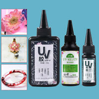 UV Resin Glue Ultraviolet Curing Solar Cure Sunlight Activated Hard