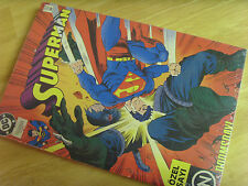 Turkish Superman Approved Special Edition Issue Comic Book, Dc Comics, Mint,Rare
